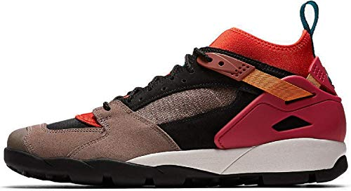 Nike ACG Air Revaderchi Men's Hiking Shoes (8, Gym Red/Geode Teal)
