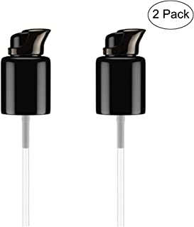 Glodorm 2PCS Replacement Foundation Pump For MAC Studio Fix Fluid Foundation(Black)