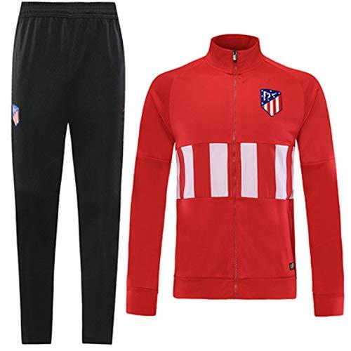 LTTL Atlětico - Camiseta de fútbol para hombre, 2 piezas, para entrenamiento, ropa deportiva, uniforme profesional, ocio, deportes, transpirable, XL