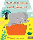 Cache cache - petit éléphant - Livre à toucher dès 6 mois