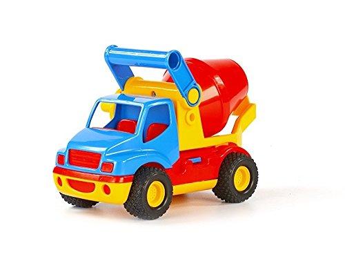 Wader Quality Toys ConsTruck Betonmischer (im Schaukarton)