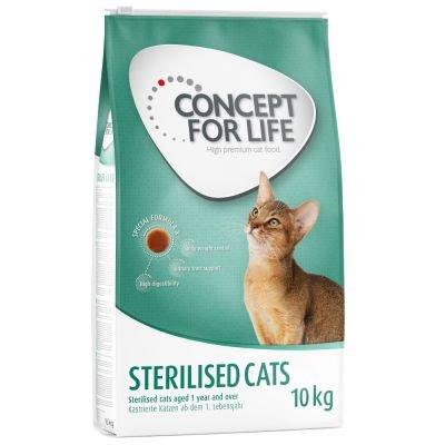 Concept for life per gatti sterilizzati