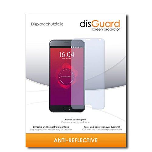 disGuard Displayschutzfolie für Meizu Pro 5 Ubuntu [3 Stück] Anti-Reflex, MATT, Entspiegelnd, Extrem Kratzfest, Anti-Fingerabdruck - Displayschutz, Schutzfolie, Panzerfolie