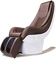 Indulge iS-7R Luxurious Rocking Massage Chair with Bluetooth App, Remote Control and Zero Space Technology
