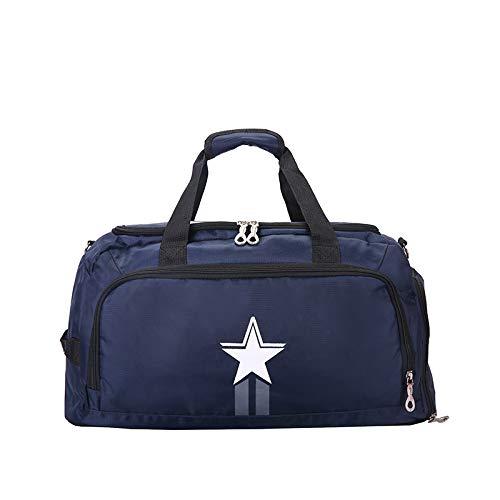 UPANV 3-Way Travel Duffel Backpack, Weekender Overnight Bag, Luggage Gym Sports Bag, 5 Colors,Blue