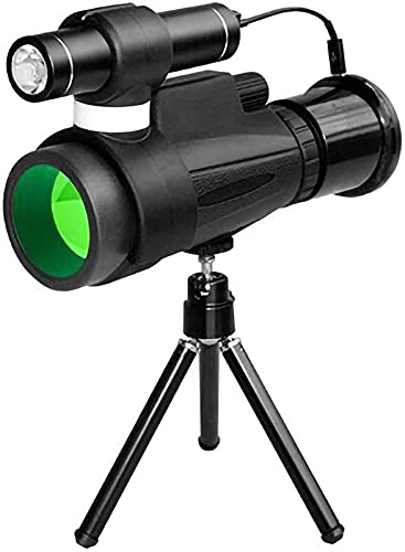 dh-13 Telescopio monocular HD con Aumento de 12 Veces Material BAK4 Infrarrojo con Poca luz 23 Mm Ocular Revestimiento Multicapa Inicio l