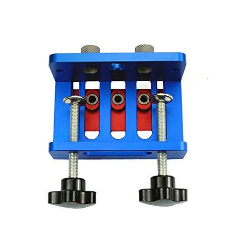 DXX-HR Tratamiento de la madera de clavijas Jig Kit - Kit de carpintería Pasador plantilla de perforación Localizador de 3-en-1 Sistema de ebanistería perforadora ponche Localizador enclavijar plantil