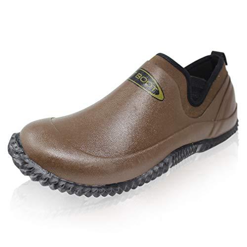 Dirt Boot Neoprene Carp Fishing Waterproof Bivvy Slippers/Shoes Brown (9 UK EU43)