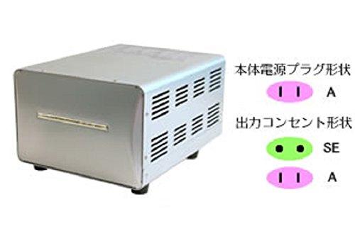 樫村 変圧器 (アップダウントランス)(220-240V⇔100V・容量海外3000W/国内1500W) WT-15EJ