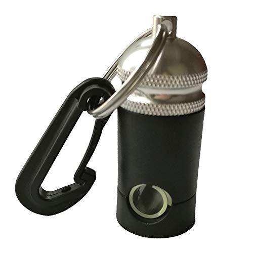 Relajante Buceo de Aluminio for Trabajo Pesado Regulador Manguera Titular Guardián con el Clip de Accesorios de Buceo Alegre (Color : Silver)