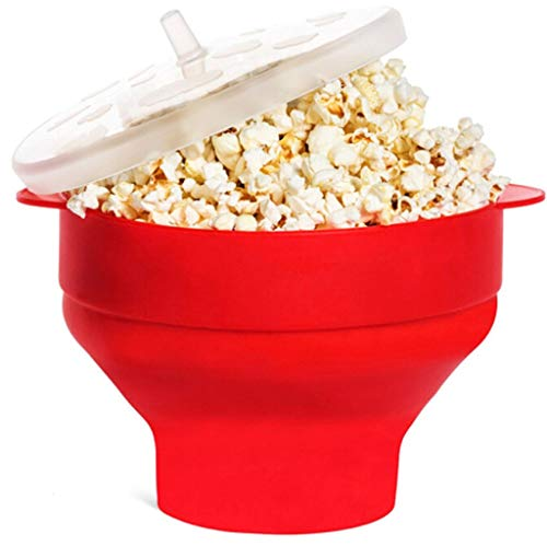 Find Discount XUANOU Microwave Oven Silicone Popcorn Popper Maker Bowl Collapsible Bpa Free Healthy ...