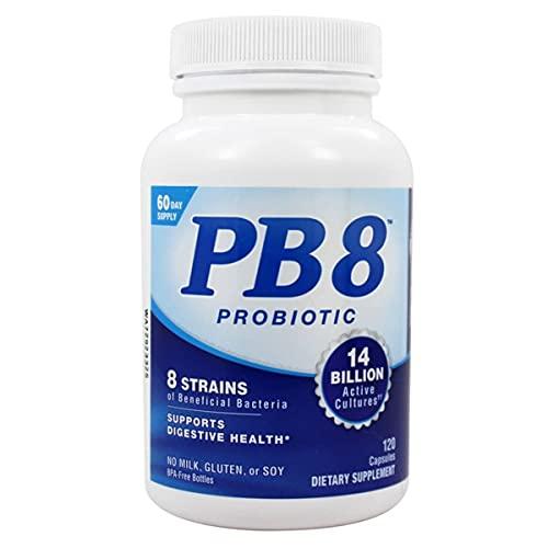 PB8 Probiótico Original Importado (120 Caps) - Nutrition Now