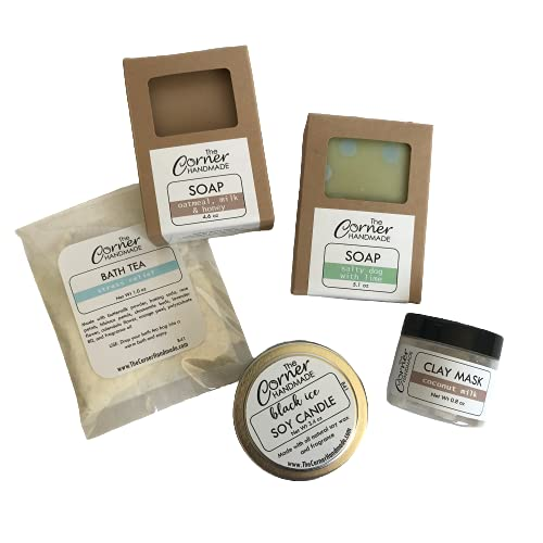 Soy Candle Gift Box Spa Max 82% Max 75% OFF OFF Basket Ar for Kit Women Bath Wellness