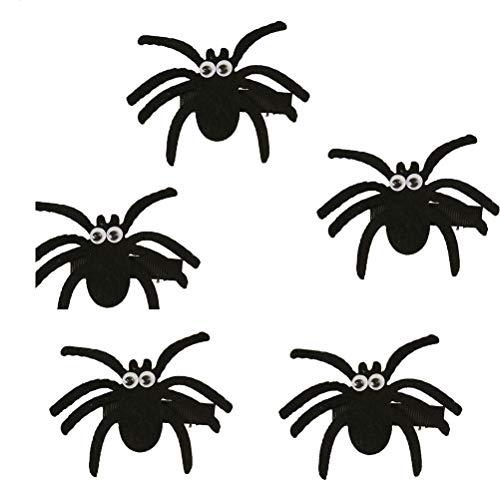 Toyvian Spinnen-Haarspange für Kinder, Halloween-Kostüm, Party