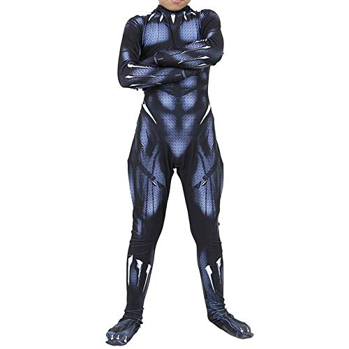 YQFZ Marvel Hero Zwarte Panter Cosplay Kostuum, Halloween Kerst Bodysuit, Fancy Dress Kostuum Jumpsuits