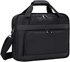 "17"" Laptop Briefcase Messenger Computer Shoulder Bag for Men Women School Work"