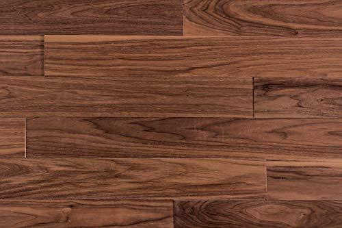 wodewa Wandverkleidung Holz 3D Optik Nussbaum 1m² Wandpaneele Moderne Wanddekoration Holzverkleidung Holzwand Wohnzimmer Küche Schlafzimmer