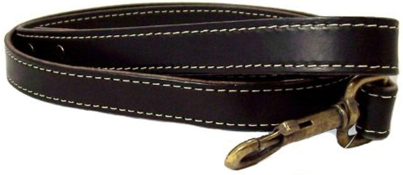 Heirloom Dog Lead color  Black, Size  1  x 48