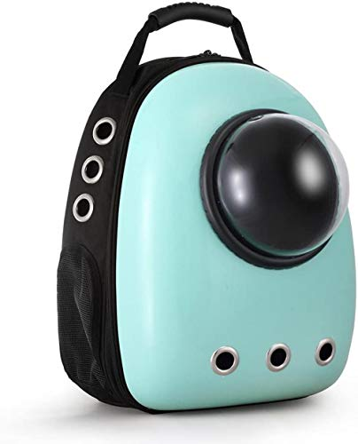 LAIHUAQUAN Pet Carrier Capsule Portable Bubble Carrier Waterproof Transparent Breathable Space Capsule Backpack For Dog Cat Puppy Animals Outdoor Travel Walking