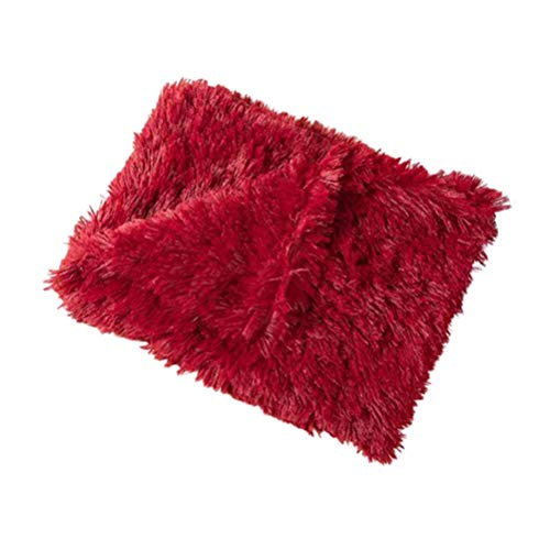 buycheapDG(JP) ペット ブランケット 毛布 猫犬用 タオル 大判 ソフト 洗える フリース ふわふわ 暖かい 防寒 犬小屋 ケージ ベッドカバー 布団 敷き物 子猫 わんちゃん 中型犬 猫 うさぎ