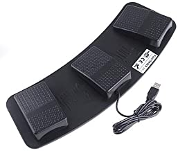 DecentGadget PC USB Foot Control Keyboard Action Switch Pedal HID (Keyboards)