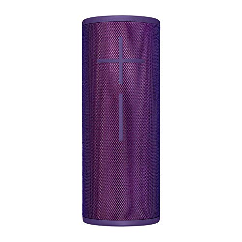 Ultimate Ears Megaboom 3 Altavoz Portátil Inalámbrico Bluetooth, Graves Profundos, Impermeable, Flotante, Conexión Múltiple, Batería de 20 h, color Viola (Reacondicionado)