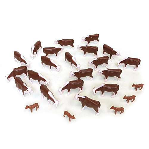 ERTL Hereford Cows (Pkg of 25) 1:64 Scale