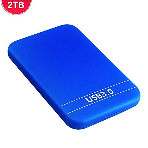 Rosymity External Hard Drive,USB 3.0 High Read Speed External Portable HDD Hard Drive 500GB/1TB/2TB,Notebook PC Desktop Mechanical Hard Drive,Free Drive Installation benchmark