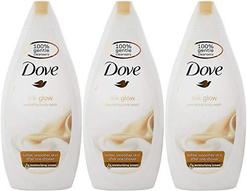 Dove Soie Corps Lavage - 500 ML (Paquet de 3)