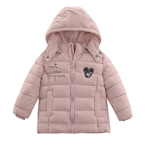 XYJD Winter 1-jährige Mädchen Baumwoll-gepolsterte Jacke, Säugling, Junge, Daunen Baumwolle gepolsterte Jacke, 15-jähriges Baby