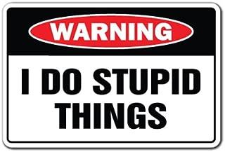 "12/"" x 17/""  ~~~ Ban Idiots Not Guns /'Merica~~~  Black and Red Metal Sign ~~~ s42"