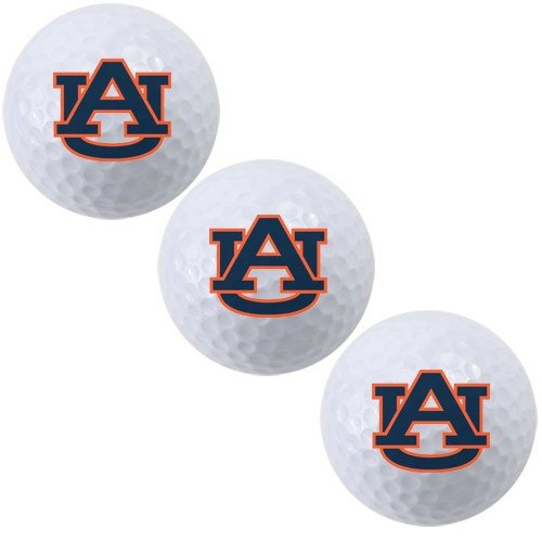 Best Buy! Team Effort Auburn Tigers Golf Ball 3 Pack