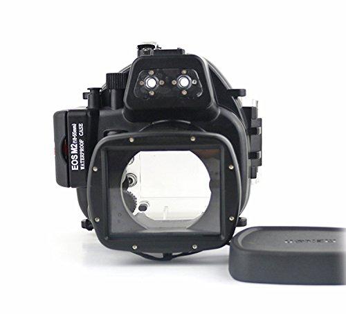 CameraPlus - digitale onderwatercamera - onderwaterbehuizing voor spiegelreflexcamera, Onderwaterbehuizing Canon EOS M2