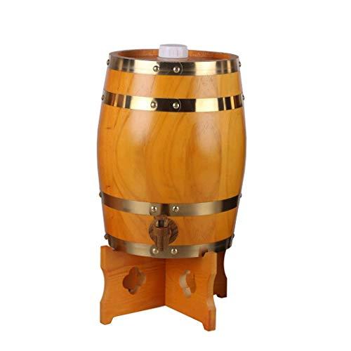 MSF Figurines Verticale Eiken Vaten, Houten Wijn, Witte WijnvatenWijnDecoratieve Vaten WhiskeyBeer, Wijn Bourbon Brandy 4 Kleuren