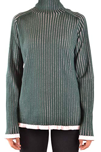 Luxury Fashion | Burberry Dames MCBI38257 Groen Zijde Truien | Seizoen Outlet