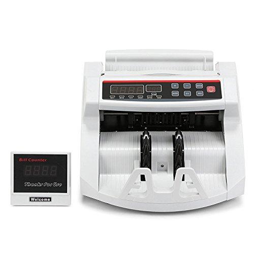 Autocompra Contador de Billetes Euro Automático Detector de Billetes con Sistema UV  MG con Pantalla LED 1000 Billetes por Minuto