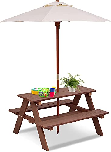 COSTWAY Kids Picnic Table