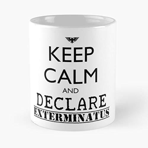 Adeptus Heretic Exterminatus 40K Warhammer Imperium Mechanicus Chaos Inquisition I Fsgsugardady- Mug holds hand made from White marble ceramic printed trendy design