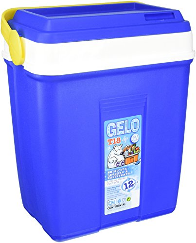 CN Continental Gelo - Nevera portátil, color azul, 18 L