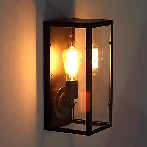 Lámparas de pared, Retro Europeo Loft Estilo Industrial Retro Balcón Lámpara de Pared/Pasillo Restaurante Hotel Barbería Iluminación de Alto Sabor Pasillo Linterna de Pared LAMP-83451R5D1G