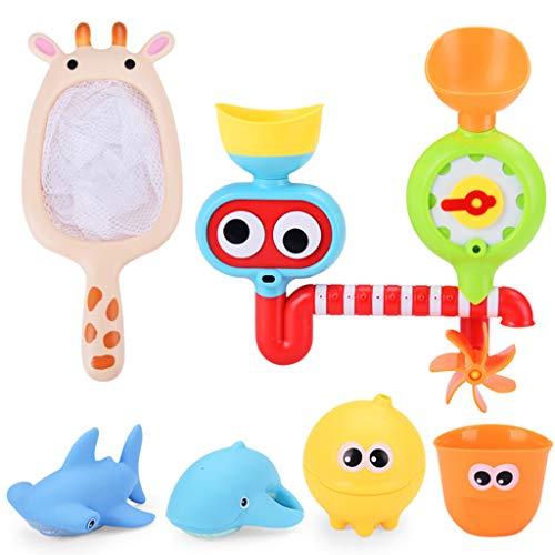 LvSenLin Juguete Splash para Niños, Juguete Ecológico para Ducha De Bañera para Bebés, Ideal para Niños Pequeños, Niñas Y Niños