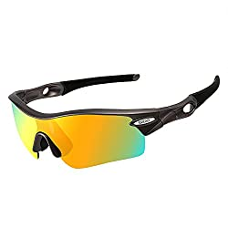 OBERLY S02 Polarized Sports Sunglasses