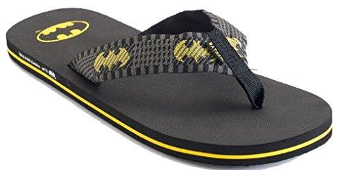 Kohl's Men's Batman Flip-Flops Sandals (Large (10-11) Black