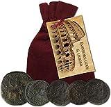 IMPACTO COLECCIONABLES Monedas Antiguas - Colección de 5 Monedas de...