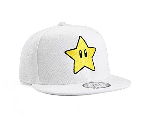 Inconnu True Heads Super Mario Star étoile Casquette de Baseball Réglable