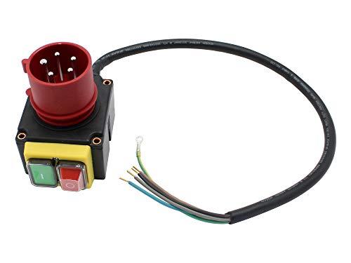 Schalter mit CEE-Stecker 400V passend Hecht 6810 Holzspalter