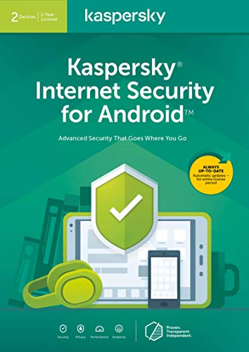 Kaspersky Internet Security for Android | Premium | 2 Dispositivo | 1 Anno | Codice d'attivazione via email