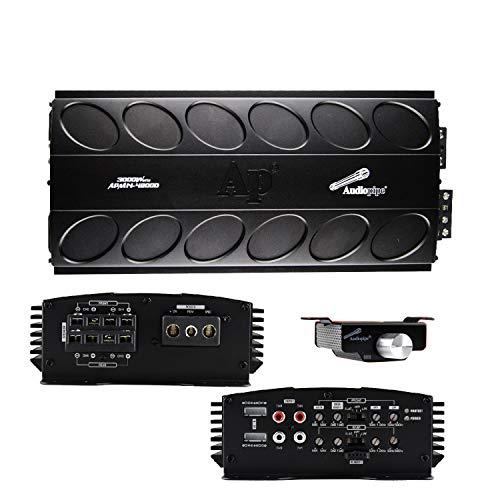 Audiopipe Mini Design 4 Channel Full Range Class D Amplifier 3000w 18.5in. x 8.5in. x 3.75in.