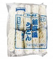 東商マート テーブルマーク株式会社 稲庭風うどん 割子 1000g 100g X 10