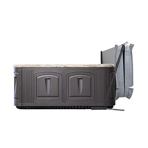 Puri Tech Pivot Under Mount Spa Cover Lift Removal System Bracket - Black